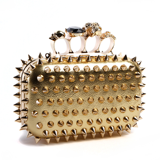 Armored D'oro Clutch